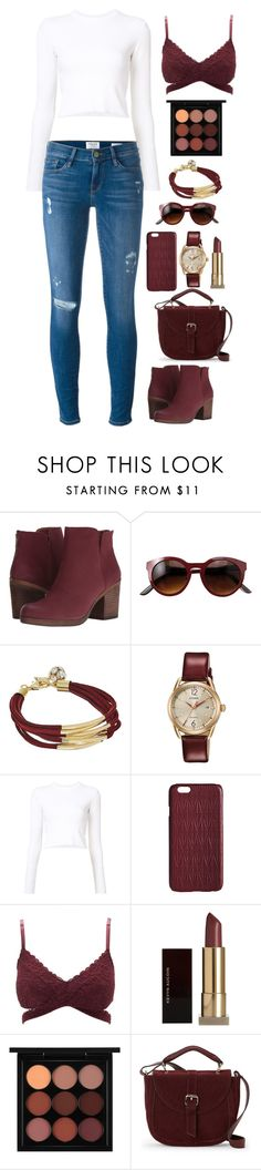 """""""Untitled #477"""" by allyyy09 ❤ liked on Polyvore featuring Lucky Brand, GUESS, Citizen, Proenza Schouler, Dagmar, Charlotte Russe, Kevyn Aucoin, MAC Cosmetics, IMoshion and Frame"""
