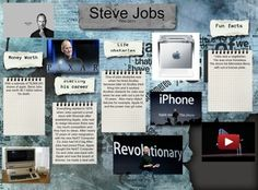Steven Paul Jobs - February 24, 1955 – October 5, 2011 was an American businessman. He was best known as the co-founder, chairman, and chief executive officer (CEO) of Apple Inc.; CEO and largest shareholder of Pixar Animation Studios; a member of The Walt Disney Company's board of directors following its acquisition of Pixar; and founder, chairman, and CEO of NeXT Inc. #glogster #glog #stevejobs #biography