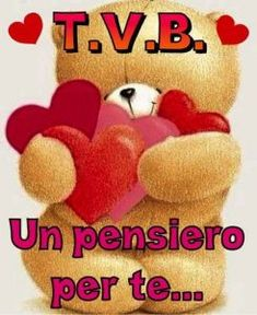 Ti Voglio Bene Italian Memes, Emoticon, Friends Forever, Good Morning, Teddy Bear, Feelings, Mtb, Valentino, Anna