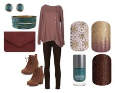 """""""Jamberry Nails - Fall/Winter Set"""" by kspantonjamon on Polyvore featuring 7 For All Mankind, Liviana Conti, Eileen Fisher, Dorothy Perkins and Alexis Bittar"""