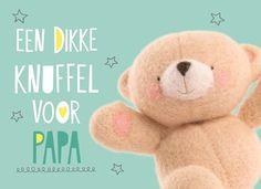 Stuur papa een dikke knuffel op zondag 19 juni! #hallmark#hallmarknl #vaderdag #papa#pap #schoonvader #liefde#love