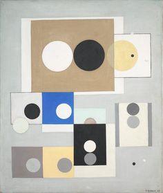 Franciska Clausen - Cercle et carré, 1930