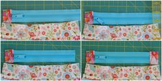 I know there are lots of zipper pouch tutorials on the web, but I still get questions regarding zippers, so hopefully this will be helpful! First up, the basic zipper pouch. This tutorial is for …