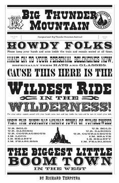 Big Thunder Mountain, ride at Disney World, #scrapbooking