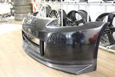 MEDUZA Ltd - Nissan 350Z Z33 N2 Front Bumper with Carbon Fibre Lip