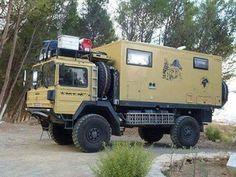 man 4x4 overland Camper Boat, Truck Camper, Camper Caravan, Overland Truck, Expedition Vehicle, 4x4 Trucks, Build A Camper Van, Off Road Camping, Adventure Campers