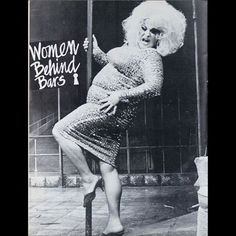 """Divine in the off Broadway show """"Women Behind Bars."""""""