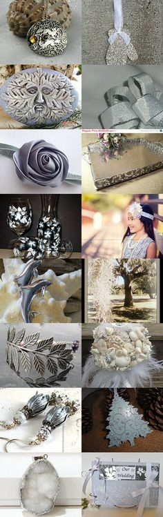 Nature Presented in Silver by Jeanne on Etsy--Pinned with TreasuryPin.com