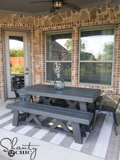 Hey there! Join us on Instagram and Pinterest to keep up with our most recent projects and sneak peeks! We're coming to YouTube soon! Make sure to subscribe to our channel! Hey guys!!! I spent much of last weekend prepping our back patio for summer entertaining. We love having family and friends over, all summer, …