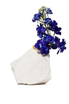 Wyatt Little Rock Out Vase