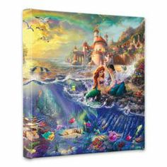 Thomas Kinkade Disney Canvas for Bathroom