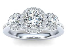 View our range of over 200 fully cutomisable diamond engagement ring designs. Choose your style from halo, solitaire, vintage, contemporary and pave settings. Designer Engagement Rings, Diamond Engagement Rings, Halo, Ring Designs, Vintage, Jewelry, Style, Swag, Jewlery
