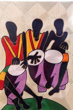 Ghana String Art by lisatresch, via Flickr  http://onegoodstory.me/emmanuels-string-art/