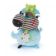 Bichinhos de Pelúcia com Velcro Alphabet Zoo - Skip Hop - Brinquedos - Bebês e Infantil