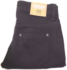 "Jayden Delias Mid Rise Skinny Black Jeans Regular US Size 00 Regular/30"" NEW !!! #dELiAs #Skinny"