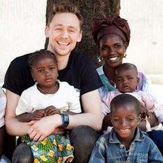 Tom Hiddleston - UNICEF - Guniea , Africa - Feb 2014