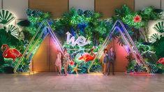 Pop-Up Shop sur Behance Exhibition Booth Design, Exhibition Display, Exhibition Stands, Exhibit Design, Entrance Design, Stage Design, Mall Design, Event Design, Rustic Wedding Backdrops