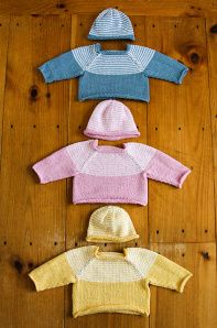 Baby Showers by Amy Stephens knit in Berroco Modern Cotton