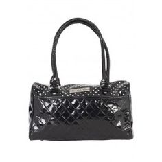 Polka Dot Bag - Black