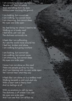 Poem - Blind - By a friend of mine, Henrieke
