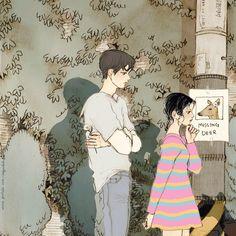 710번째 이미지 Art And Illustration, Anime Gifs, Anime Art, Animated Love Images, Cute Anime Coupes, Romance Art, Cute Couple Art, Cute Love Gif, Pretty Drawings