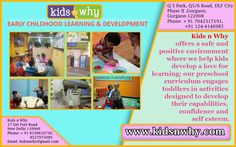 Day Cares And Play Schools in  Delhi & Gurgaon for your kid