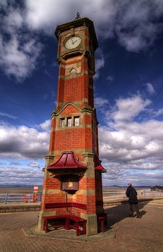 Morecambe Clock Tower in Lancashire, England by Bay Photographic, via Flickr