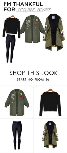 """""""Long Jackets"""" by shamzz on Polyvore featuring WithChic, Moschino and imthankfulfor"""