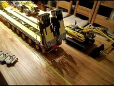 LEGO TECHNIC 8258 CONVOIE EXCEPTIONNEL - YouTube