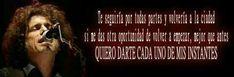 Frases de canciones de Andrés Calamaro  (Facebook)