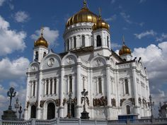 Cathedral of Christ the Saviour - Moscow, Russia