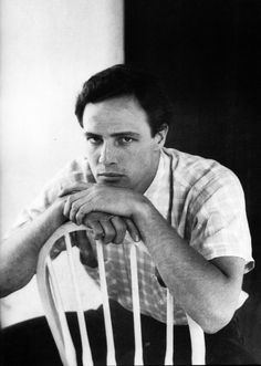 Marlon Brando photographed by Jean Howard for Vogue, 1951.
