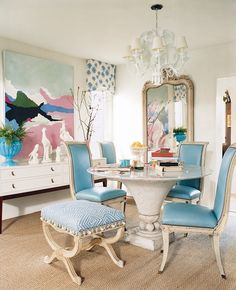 If your room is anything whatsoever like what I've shown here, you'll have multiple alternatives to think about. Each living room differs and everyone. Dining Room Blue, Dining Room Design, Dining Chairs, Dining Area, Design Table, Patio Dining, Lounge Chairs, Fine Dining, Chair Design