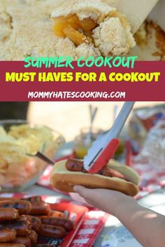Best Comfort Foods Are you ready t Food & Drink Healthy Snacks Nutrition Cocktail Recipes Are you ready to Check out these 10 Must Haves for the Summer Cookout Menu with & then plan your summer cookout! Smoked Meat Recipes, Grilling Recipes, Slow Cooker Recipes, Cooking Recipes, Cooking Tips, Summer Recipes, Summer Ideas, Summer Food, Summer Time