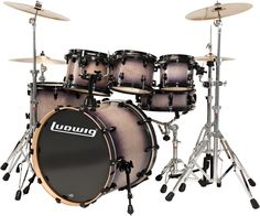 Ludwig Lacquer Series Drums