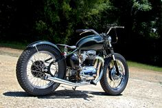 BSA A65 Bobber by The Factory Metal Works - Images by Clint Quiz #motorcycles #bobber #motos | caferacerpasion.com