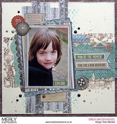 Layout created by for using the fabulous Mountain Air Kaisercraft Collection. Scrapbooking Layouts, Scrapbook Pages, Workshop Layout, New Adventures, Outdoor Adventures, New Pictures, The Great Outdoors, Projects To Try, Mixed Media
