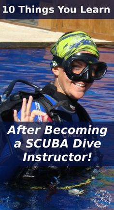 10 Things You Learn After Becoming a SCUBA Dive Instructor!  For years I thought being a Divemaster was the perfect way to travel the world and earn money at the same time, until I became an instructor.   http://www.diveoclock.com/blog/After_becoming_instructor/  Dive o'clock! scuba diving | underwater | diving | scubadive | padipro | divetheworld | scubadiver  |  duiken | tauchen | under the sea | duikinstructeur | duikopleiding | divemaster | IDC | Instructor Development Course | PADI