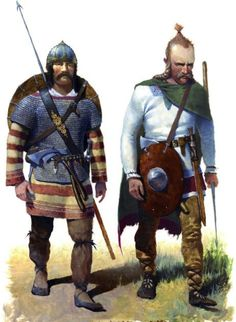 The Franks- the first known as the Germanic tribes that ruled the lower and middle rhine
