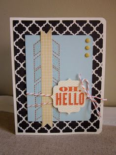 Pretty Provisions - Hello card