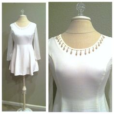 90s in White by Crystal Braley on Etsy