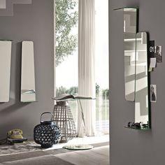 Tag Wall Mirror with Shelf