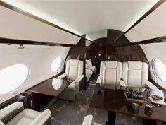 Most Luxurious Private Jets in the World Luxury Jets, Luxury Private Jets, Gulfstream G650, Executive Jet, Private Jet Interior, Falcon Heavy, Aircraft Interiors, Shops, Boeing 747