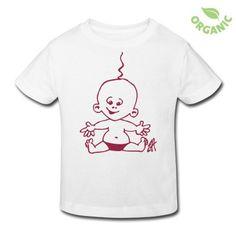 Baby T-Shirt | Spreadshirt | ID: 8062517 #Cardvibes #Tekenaartje