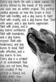 replace ' human' with each of these and we would be a happier race. Thank you to the dogs of the world for being our teachers.