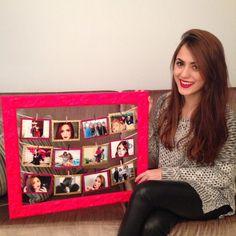 Jana Make up » Blog Archive » DIY: Moldura para Fotos! ♥