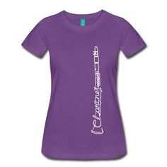 The Clarinet Women's T-Shirts, found on spreadshirt