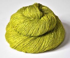 Blooming Acorn Tussah Silk Yarn Lace Weight