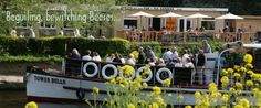 On the River Avon nr Bristol, open April to Sept, lovely setting and good grub.