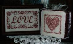 Love (One Color Wonders) - Cross Stitch Pattern